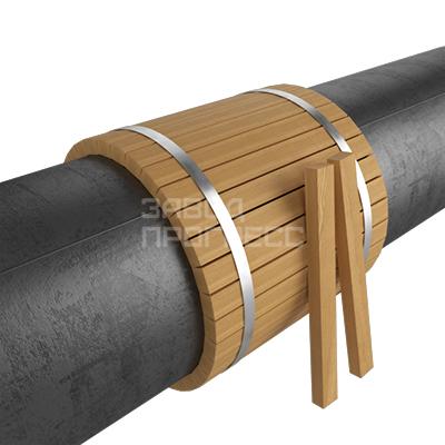 футеровочная рейка деревянная